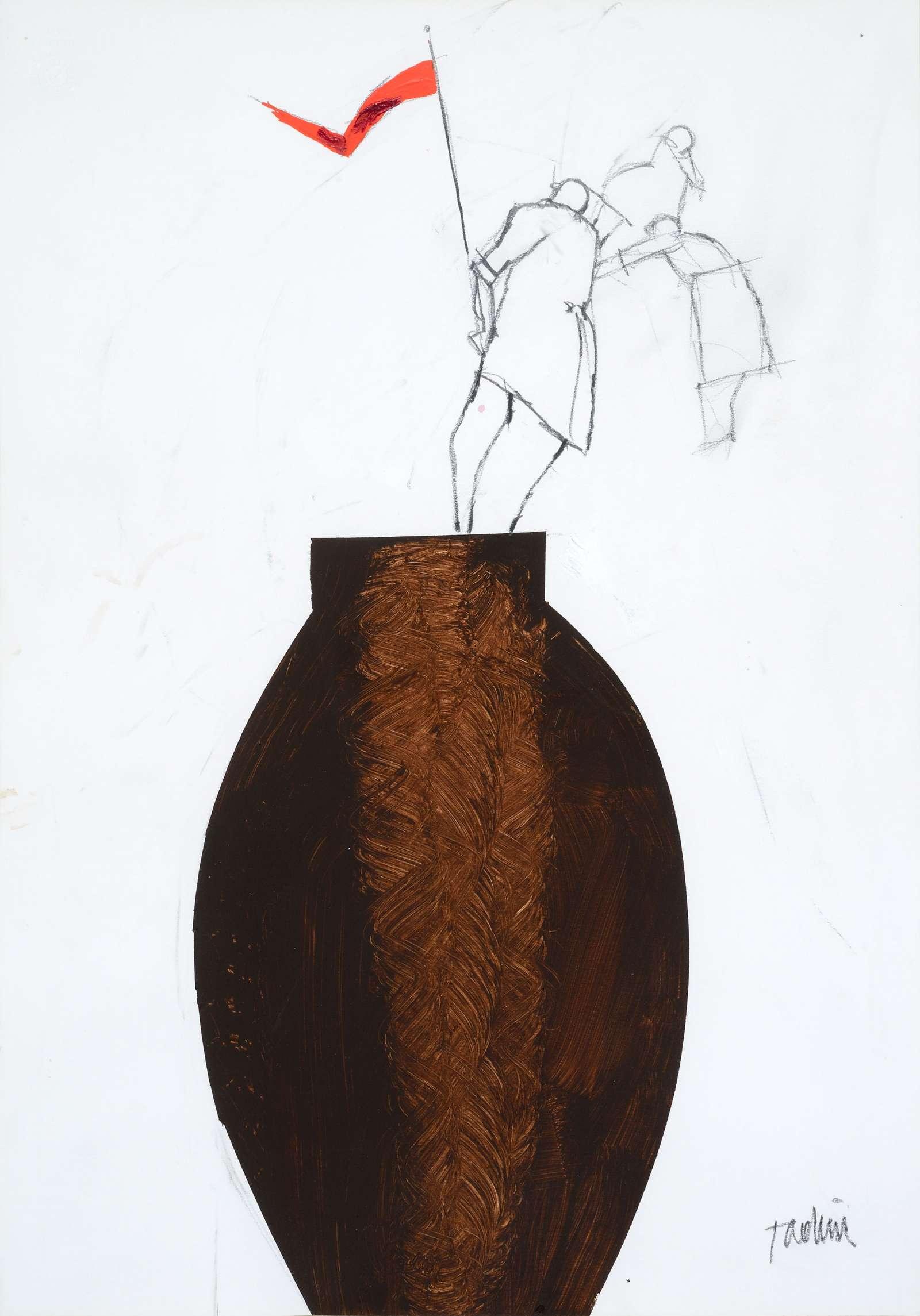 Emilio Tadini, Senza titolo, 1990